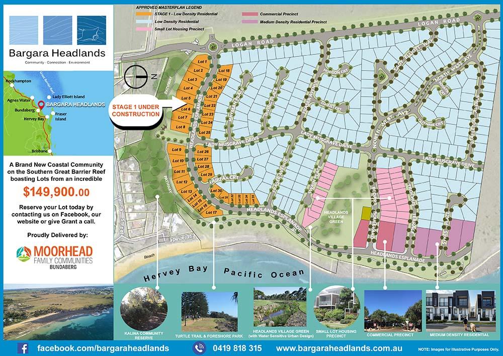 Click to Download The Bargara Headlands Matster Plan