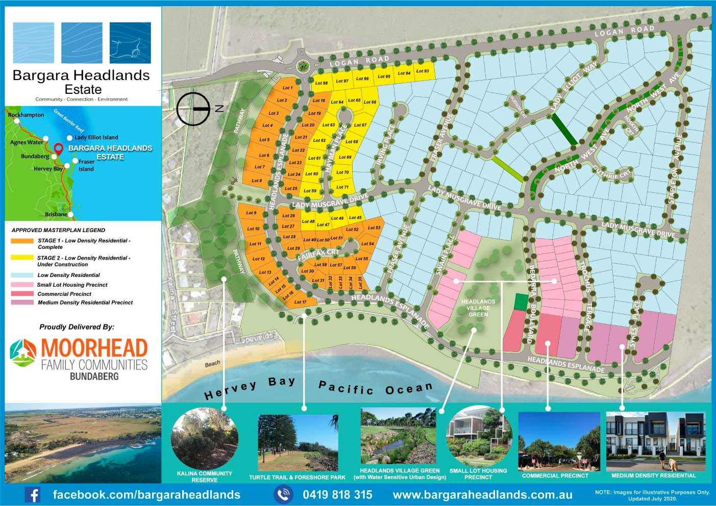Bargara Headlands Estate - Master Plan